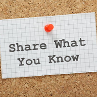 Share What You Know